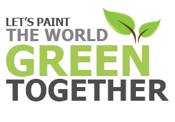 paint the world green